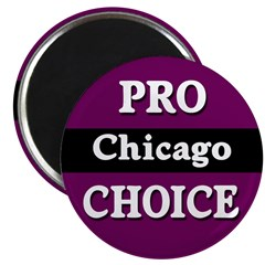 Pro-Choice Chicago Magnet