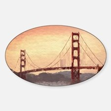 Golden Gate Bridge Inspiration Decal