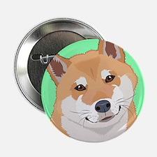 "Shiba Inu 2.25"" Button (100 pack)"
