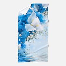 Beautiful Floral Beach Towel