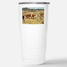 Hereford Cattle Travel Mug