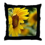 Sunflower Photo Throw Pillow