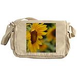 Sunflower Photo Messenger Bag