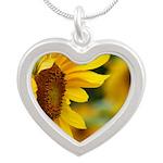 Sunflower Photo Necklaces