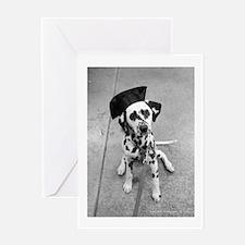 Unique Dog graduation Greeting Card