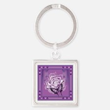 Butterfly/rose Keychains