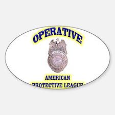 Operative American Protective Leagu Decal