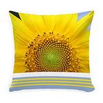 Sunflower Photo Everyday Pillow