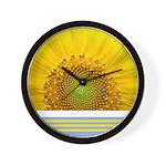 Sunflower Photo Wall Clock