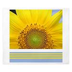 Sunflower Photo King Duvet