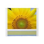 Sunflower Photo Throw Blanket