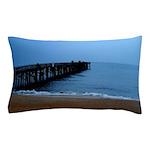 Flagler Beach Fishing Pier Photo Pillow Case