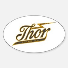 Thor Motorcycle Chicago Retro Decal