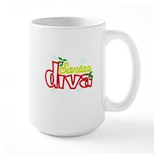 Santas Diva Mugs