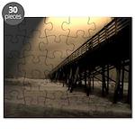 Flagler Beach Fishing Pier Photo Puzzle