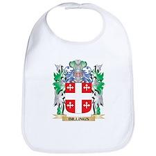 Billings Coat of Arms - Family Crest Bib