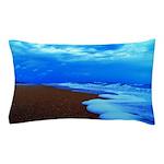 Flagler Beach Shoreline Picture Pillow Case