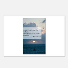 What a Real Friend Is Postcards (Package of 8)