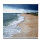 Flagler Beach Shoreline Tile Coaster