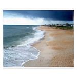 Flagler Beach Shoreline King Duvet
