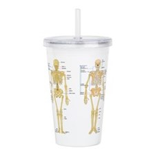 Cute Broken leg Acrylic Double-wall Tumbler