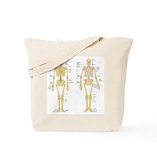 Cute Skeleton Tote Bag