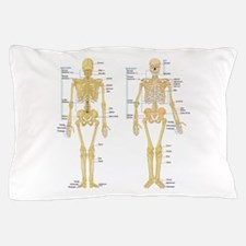 Cute Skeleton Pillow Case