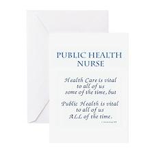 Public Health Nurse Greeting Cards (Pk of 10)