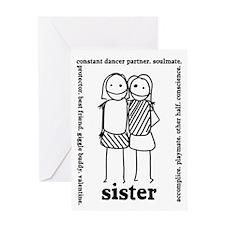 Sisters (2) Greeting Card