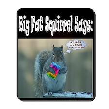 "BFS ""My Nuts are Stuck in my locker"" Mousepad"