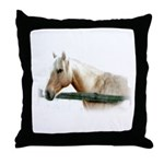Horse Photography Throw Pillow