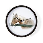Horse Photography Wall Clock