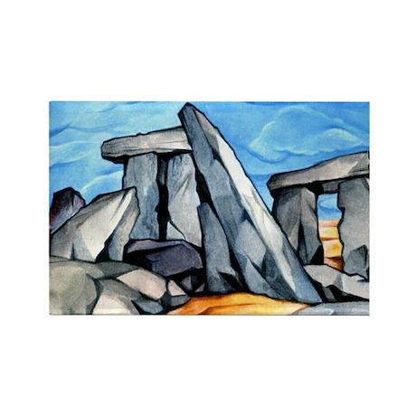 Stonehenge 2 Rectangle Magnet (10 pack)