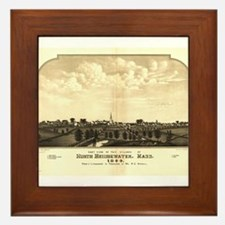 Brockton ,Massachusetts. 188 Framed Tile