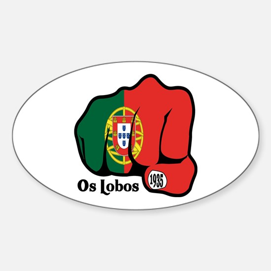 Portugal Fist 1935 Oval Decal