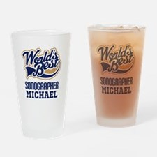 Sonographer Personalized Gift Drinking Glass