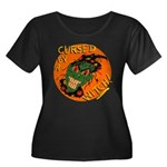 Cursed by a Witch! Smiling Halloween Retro Plus Si