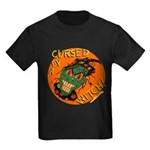 Cursed by a Witch! Smiling Halloween Retro T-Shirt