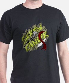-Screw Throat Cancer 4C T-Shirt