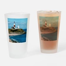 Unique Montauk point Drinking Glass