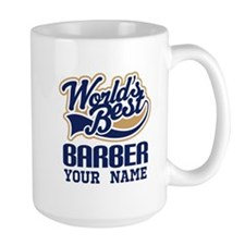 Barber Personalized Gift Mugs