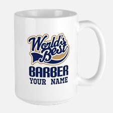 Barber Personalized Gift Mugs