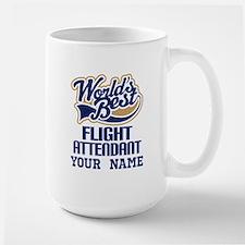 Flight Attendant Personalized Gift Mugs