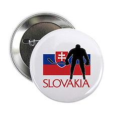 "Slovak Hockey 2.25"" Button (10 pack)"