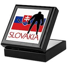 Slovak Hockey Keepsake Box