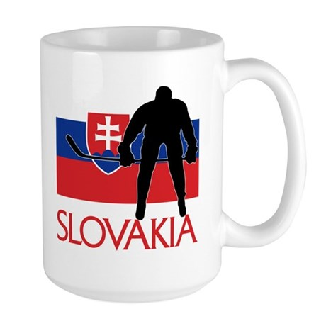 Slovak Hockey Large Mug