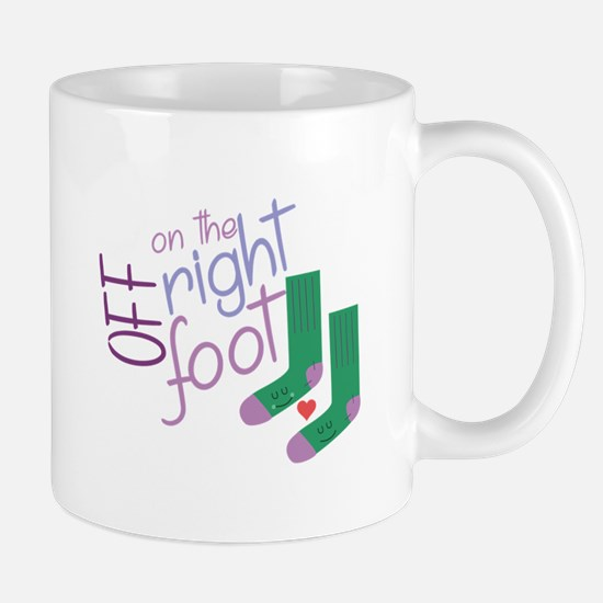 The Right Foot Mugs