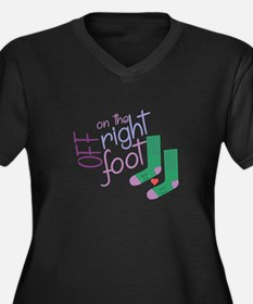 The Right Foot Plus Size T-Shirt