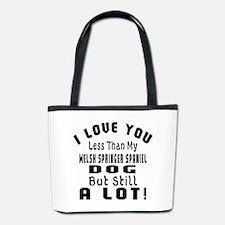 Welsh Springer Spaniel dog designs Bucket Bag