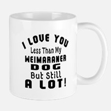 Weimaraner dog designs Mug